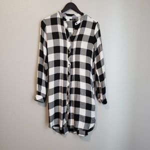 Max Jeans | Plaid Tunic- XS